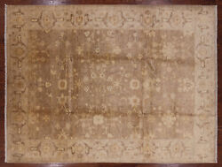 8and039 10 X 12and039 0 Antique Peshawar Hand Knotted Wool Rug - W1333