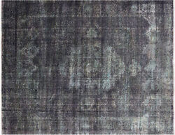 Overdyed Hand Knotted Rug 9' 6 X 12' 3- W872