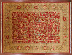 9and039 2 X 11and039 10 Ziegler Hand Knotted Wool Rug - W1263