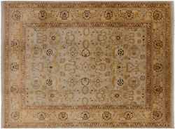 9and039 0 X 12and039 0 Hand Knotted Wool Peshawar Rug - P2584