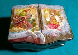 Handpainted One Of A Kind Russian Lacquer Box Tales Of Tzar Saltan D. Rogatov