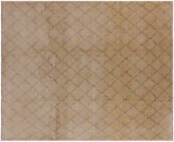 Gabbeh Hand-knotted Wool Rug 8and039 1 X 9and039 9 - P4266