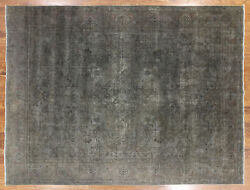 Hand Knotted Overdyed Rug 9and039 10 X 12and039 8 - P6537