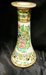 China Qing Dynasty. 1800's Plates And Candle Holder Antiques / Beautys