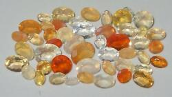 25ct Lot 48pcs Assorted Faceted Mexican Light Fire Precious Opals 8ct Special
