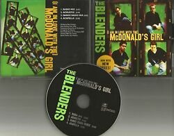 The Blenders Mcdonaldandrsquos Girl New Mixes And Acoustic And Acapella Promo Dj Cd Single