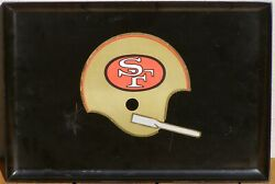 1960and039s San Francisco 49ers Tray By Couroc Monterey California