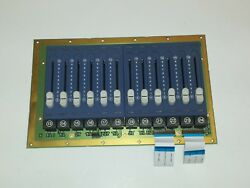Strand Lighting 500 Series 205 Submasters Board Pcb1098 13-24