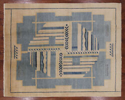8' 2 X 10' 2 Gabbeh Hand Knotted Rug - H7480