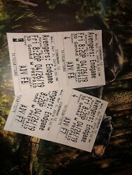 """Avengers Endgame Tickets @ The """"gross"""" Regal Cinema Beaumont Tx - Opening Night"""