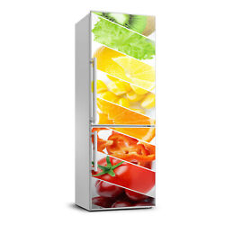 3d Refrigerator Self Adhesive Removable Sticker Food Vegetables And Fruits