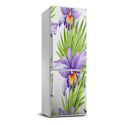 3D Refrigerator Wall Kitchen Removable Sticker Flowers Orchid and palm