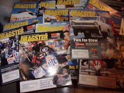 National Dragster Magazine Lot Of 12 2004 Nhra Oand039reilly Gator Nationals - Lotl