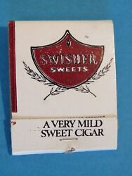 Dd Bean And Sons Matches Matchbook Swisher Sweets Very Mild Cigar Relax