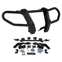 Kimpex Front Bumper With Mount Kit Black Kawasaki Brute Force 650 750 2005-2013