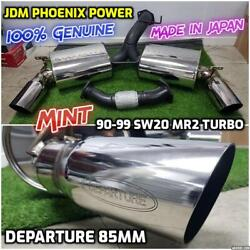 SW20 MR2 Turbo Genuine Phoenix Power Departure 85mm Last Edition Exhaust Muffler