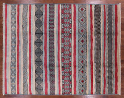 9' 4 X 11' 9 Moroccan Hand Knotted Southwest Navajo Rug - P6198