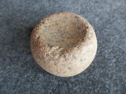 Native American Discoidal, American Indian Game Stone,  Day-02121