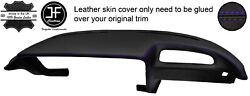 Purple Stitching Dash Dashboard Real Leather Cover Fits Opel Gt Classic 68-73