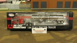 Dcp31478 Lacy's Express Inc Pete 379 Semi Truck Chemical Tank Trailer 164/fc