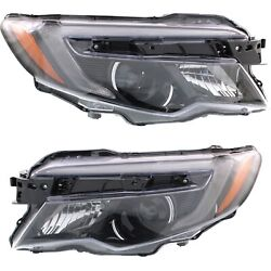 Headlight For 2016-2019 Honda Pilot With Auto On Off Pair Lh And Rh