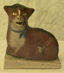 Antique Early German Lamb W/baby Pip Squeak Toy