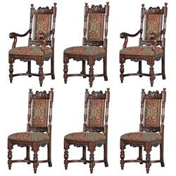 Design Toscano Grand Classic Edwardian Dining Chairs: Collection