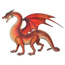 Design Toscano The Red Welsh Dragon Statue: Giant