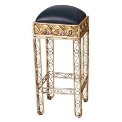 Design Toscano The Altar of Tenenit: Egyptian Bar with Two Barstools
