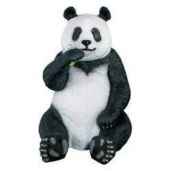 Design Toscano Fantong Oversized Giant Panda Bear Statue with Paw Seat