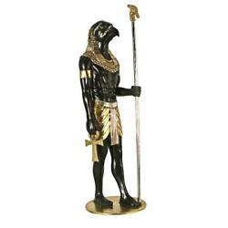 Design Toscano The Egyptian Grand Ruler Collection Life-size Horus Statue