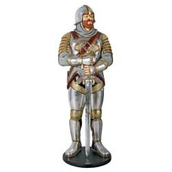 Design Toscano Medieval Knight Of The Round Table Life-size Statue