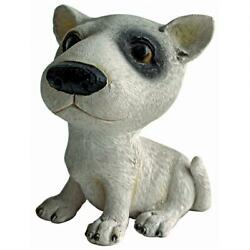 Design Toscano Prized Pup: Bull Terrier Puppy Dog Statue