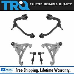 Trq Front Upper Lower Control Arm Sway Bar End Link Suspension Kit 6pc For F150