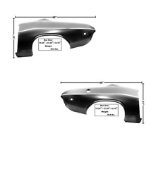 Dodge Challenger Complete Quarter Panel Oe Style Set Left And Right 1972-1974