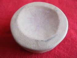 Game Stone Discoidal, Hand Carved Native American Indian Discoidal, Port-02033