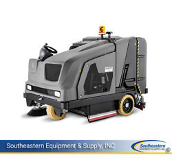 New Karcher B 300 R LPG Sweeper-Scrubber - with right scrub deck working lights