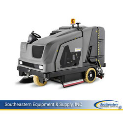 New Karcher B 300 R LPG Sweeper-Scrubberwith right scrub deckleft sweep brush