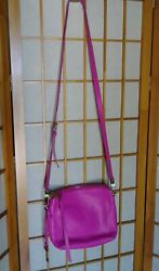 Fossil Hot Pink Maya Crossbody Women#x27;s Bag $37.95