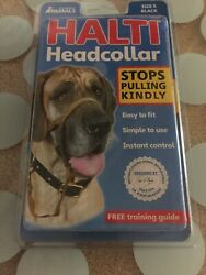 Company of Animals Halti Headcollar for Dogs - Black Size 5