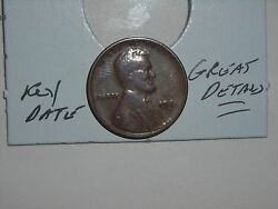 Wheat Penny 1924d Lincoln Cent 1924-d Nice Details Key Date Free Shipping