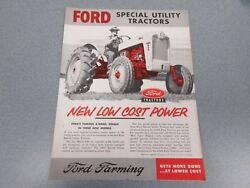 Ford 620, 630 And 820 Farm Tractor Brochure           Lw