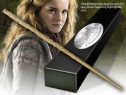 Harry Potter Hermione Granger Official Prop Replica Wand + Bonus Name Clip Stand