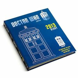 Dr Who Tardis Rare 50th Anniversary Diary Daily Planner Book 11 Doctor 2013/2019
