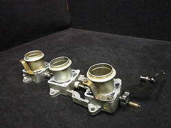 Upper And Lower Throttle Body 0439354 0439355 Evinrude 1999-00 200-250 Hp 666