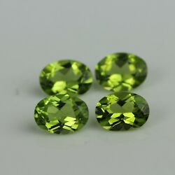 Natural Aaa+ Peridot Oval 3x4 Mm-7x9 Mm Calibrated Cut Loose Gemstone Best Price
