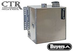 Buyers Products Smr25af10, 25 Gal Side Mount Alum. Hyd. Reservoir W/10 Micron Ft