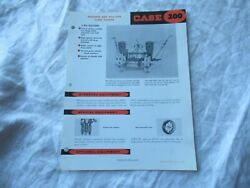 Case 200 Mounted And Pull-type Corn Planter Specification Sheet Brochure