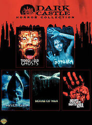 Dark Castle Horror Collection Dvd, 2007, 5-disc Set Free Shipping