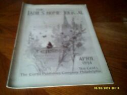 The Ladiesand039 Home Journal - April 1894 --easter 40 Pgs Very Nice